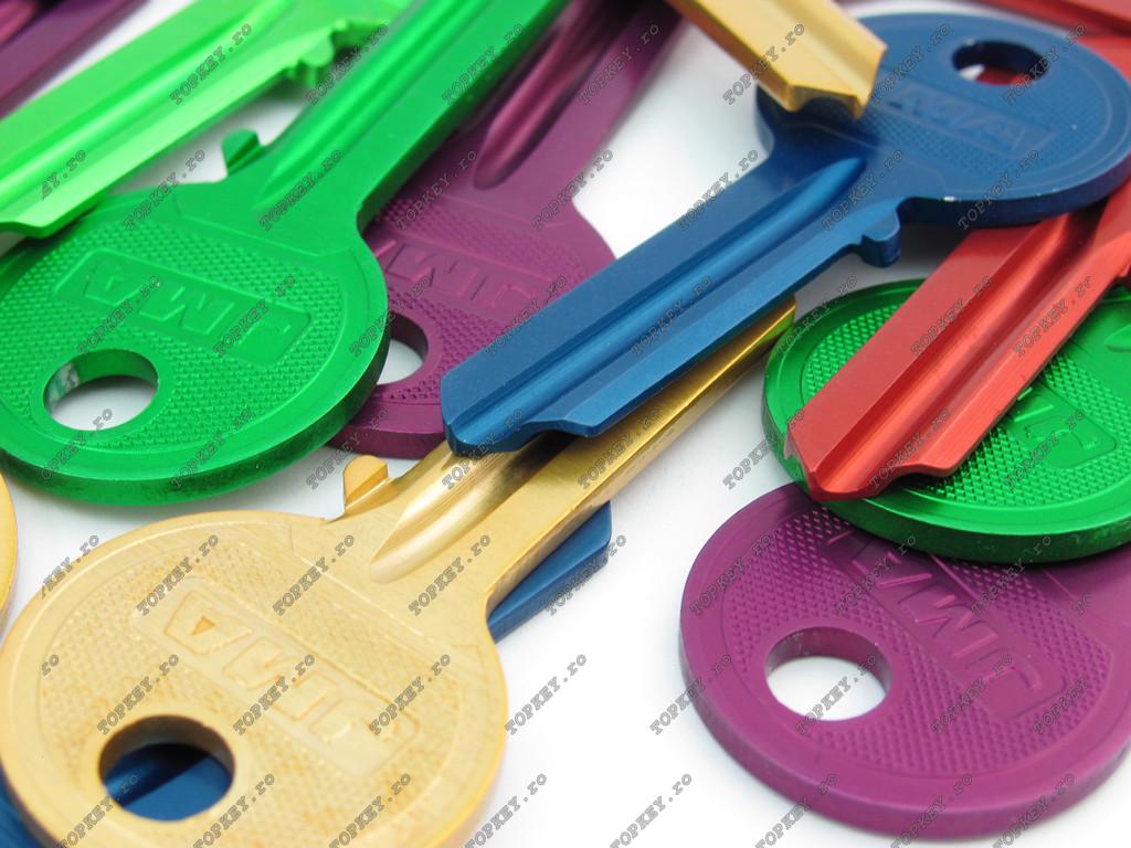 Chei colorate