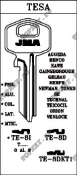 Chei de securitate pentru klyuchalka TESA